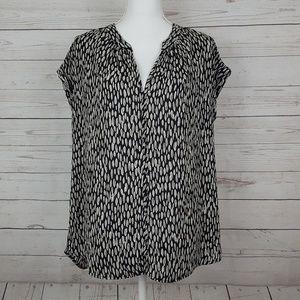 Pleione cap sleeved blouse